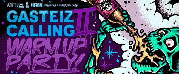 Crónica de la Warm Up Party del Gasteiz Calling II