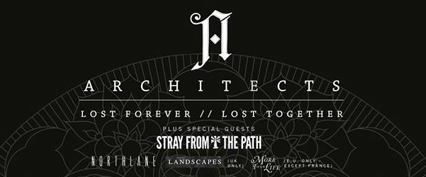 "Architects ""Lost Forever // Lost Together"" Tour aterriza en Barcelona."