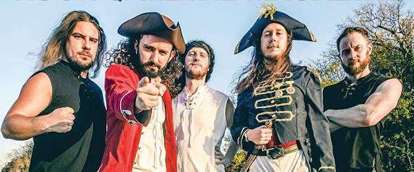 """Alestorm lanzan el vídeo para """"Shit Boat (No Fans)"""