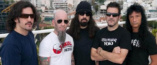 Anthrax anuncia nuevo DVD en directo