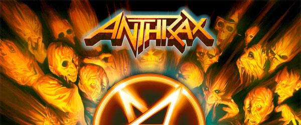 "Adelanto de Anthrax: ""The Devil You Know"""