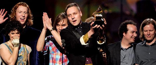 Arcade Fire premio Grammy a mejor álbum del año
