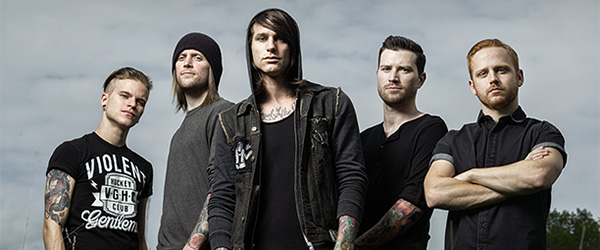 "Nuevo single de Blessthefall: ""Up In Flames"""
