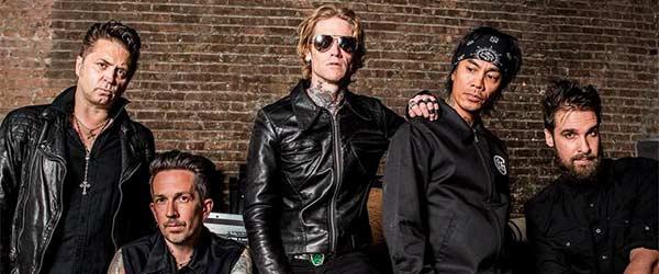 Vídeo de Buckcherry para su versión de Nine Inch Nails