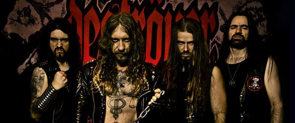 Gira española de Deströyer 666 en abril
