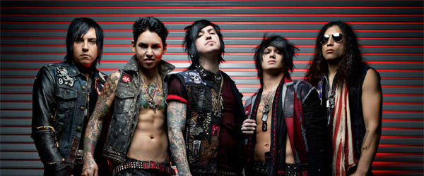"Vídeo de Escape the Fate: ""Ungrateful"""