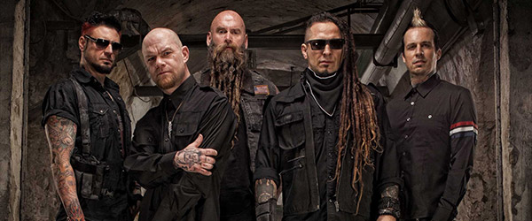 Gira de Five Finger Death Punch en diciembre