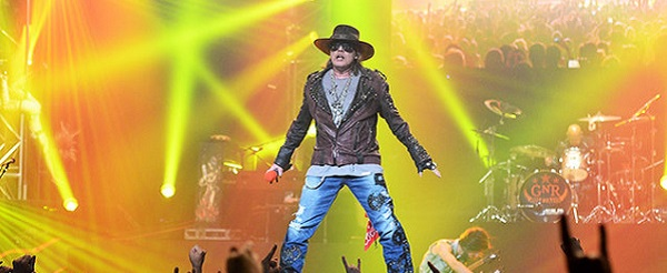 Guns N' Roses confirman fecha en Madrid