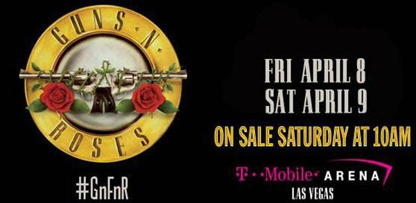 Guns N' Roses ~ Las Vegas [9/4/2016]