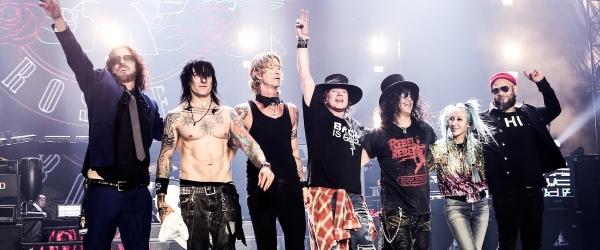 Guns N' Roses actuarán el 30 de mayo en Bilbao