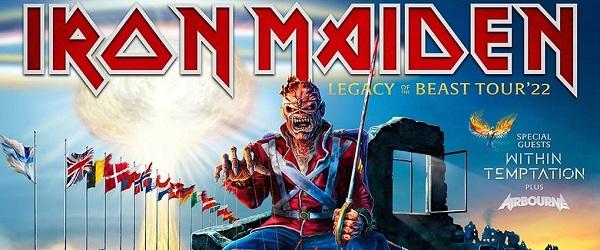 Nueva fecha para el concierto de Iron Maiden en Barcelona