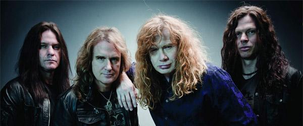Megadeth finalizan la grabación de su nuevo álbum
