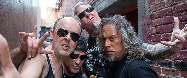 Metallica lanzan vídeos de todos los temas de su nuevo disco