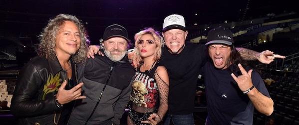 Vídeo: Metallica y Lady Gaga actúan juntos en los Grammy