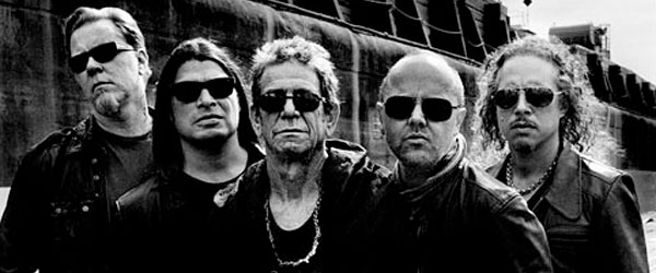 "Adelanto de ""Lulu"" (Metallica + Lou Reed) : ""The View"""