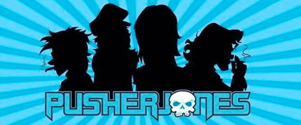 PusherJones, nuevo supergrupo (de dibujos animados)