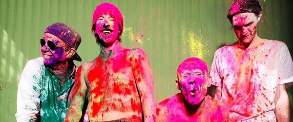 Histórico concierto de Red Hot Chili Peppers en las pirámides de Egipto