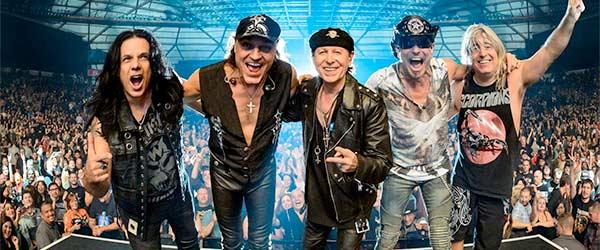 Scorpions, cabezas del Download Madrid y Rock The Coast Festival