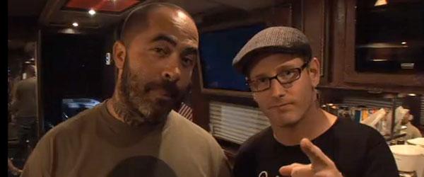 Corey Taylor y Bob Esponja