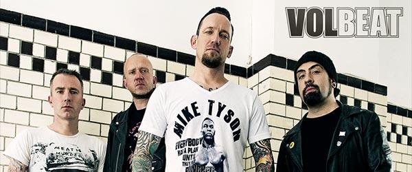 Volbeat también estarán en Barcelona y Bilbao