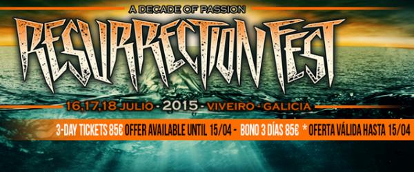 17 bandas más al Resurrection Fest