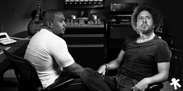 Rage Against The Machine trabajando con Timbaland