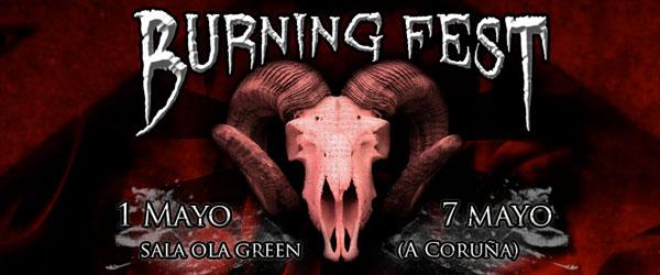 Burning Fest 2011, nuevo festival de metal extremo