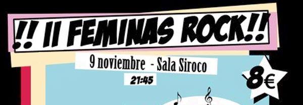 2º Feminas Rock: Ladies + Gisela Novais & Victims