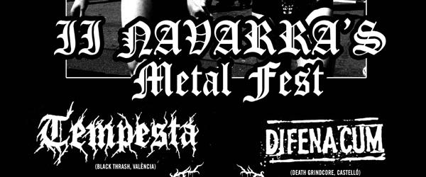 ¡Se acerca el II Navarra's Metal Fest!