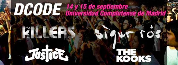 Nuevos grupos para el DCODE Fest 2012