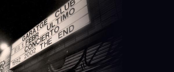 El Fantástico Hombre Bala y Afraid To Speak In Public en el 20 Aniversario de Garatge Club