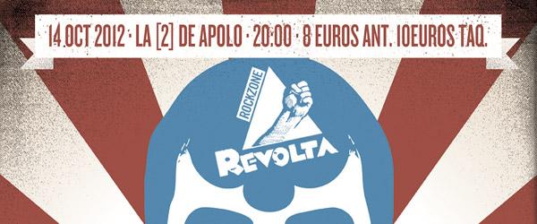 Sorteamos entradas para la sesión Revolta