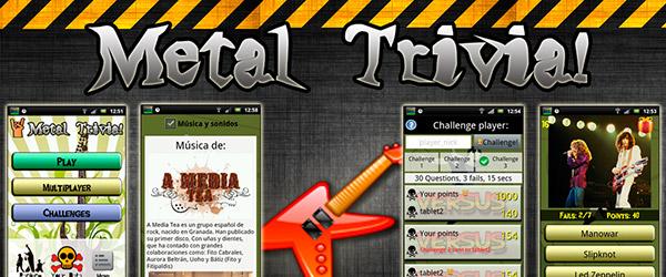 Consigue un pack de preguntas extra para Metal Trivia