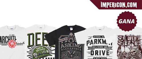 Sorteamos camisetas de Parkway Drive, Suicide Silence...