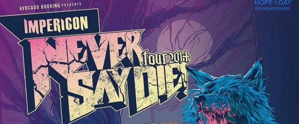 Anunciado el Never Say Die! Tour: Madrid y Barcelona