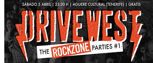 Fiesta Drivewest RockZone en Tenerife con Gallows DJ y más