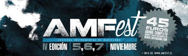 Tres nuevas bandas para el AMFest IV