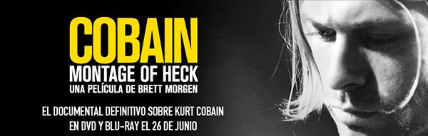 Cobain: Montage of Heck mañana en DVD y Blu-ray