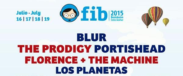 Previa: FIB 2015 (Benicàssim, 16-19 de julio)