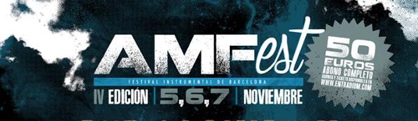 Cerrado el cartel del AMFest de noviembre