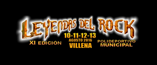 Leyendas del Rock 2016: cartel definitivo y más actividades