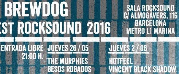 Mañana empieza el Brewdog Contest Rocksound 2016