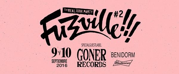 Fuzzville!!! 2016, rock de garaje y palmeras