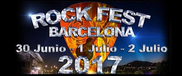 Nuevas bandas para el Rock Fest BCN 2017