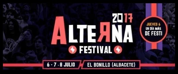 Completado el cartel del Alterna Festival 2017