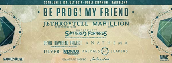 El Be Prog! My Friend completa su cartel