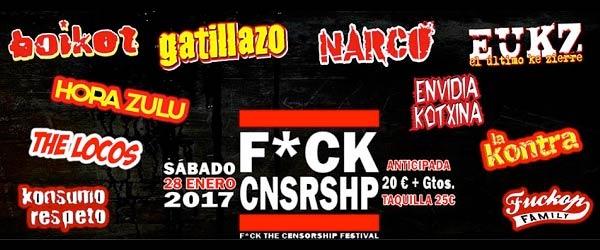 Crónica del F*ck Cnsrshp Festival, Alicante