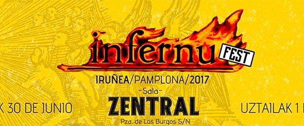 Infernu Fest, 30 de junio y 1 de julio en Pamplona / Iruña