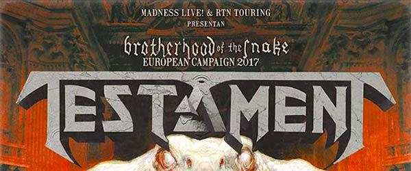 Testament + Annihilator + Death Angel en Madrid