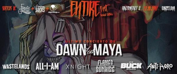 Segunda edición del Entire Fest hoy en Barcelona